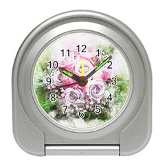 Flowers Bouquet Art Nature Travel Alarm Clocks