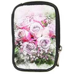 Flowers Bouquet Art Nature Compact Camera Cases