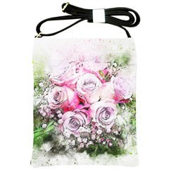 Flowers Bouquet Art Nature Shoulder Sling Bags