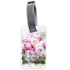 Flowers Bouquet Art Nature Luggage Tags (two Sides)