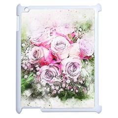 Flowers Bouquet Art Nature Apple Ipad 2 Case (white)