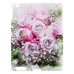 Flowers Bouquet Art Nature Apple Ipad 3/4 Hardshell Case