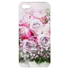 Flowers Bouquet Art Nature Apple Iphone 5 Hardshell Case