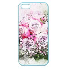 Flowers Bouquet Art Nature Apple Seamless Iphone 5 Case (color)