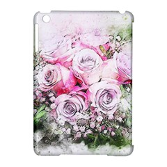 Flowers Bouquet Art Nature Apple Ipad Mini Hardshell Case (compatible With Smart Cover)