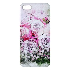 Flowers Bouquet Art Nature Apple Iphone 5 Premium Hardshell Case