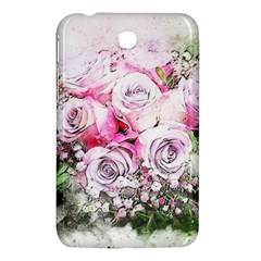 Flowers Bouquet Art Nature Samsung Galaxy Tab 3 (7 ) P3200 Hardshell Case