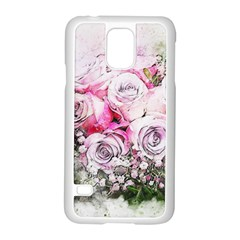 Flowers Bouquet Art Nature Samsung Galaxy S5 Case (white)
