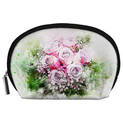 Flowers Bouquet Art Nature Accessory Pouches (large)