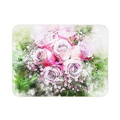 Flowers Bouquet Art Nature Double Sided Flano Blanket (mini)