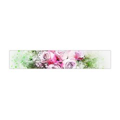 Flowers Bouquet Art Nature Flano Scarf (mini) by Nexatart