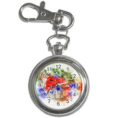 Flowers Bouquet Art Nature Key Chain Watches