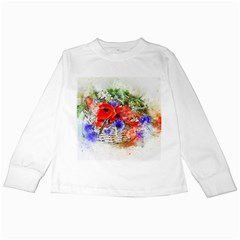 Flowers Bouquet Art Nature Kids Long Sleeve T Shirts