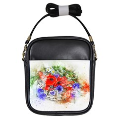Flowers Bouquet Art Nature Girls Sling Bags
