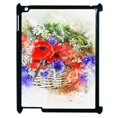 Flowers Bouquet Art Nature Apple Ipad 2 Case (black)