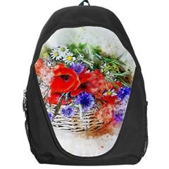Flowers Bouquet Art Nature Backpack Bag