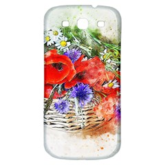 Flowers Bouquet Art Nature Samsung Galaxy S3 S Iii Classic Hardshell Back Case