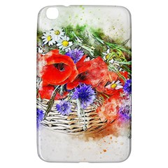 Flowers Bouquet Art Nature Samsung Galaxy Tab 3 (8 ) T3100 Hardshell Case