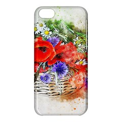 Flowers Bouquet Art Nature Apple Iphone 5c Hardshell Case