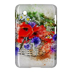 Flowers Bouquet Art Nature Samsung Galaxy Tab 2 (7 ) P3100 Hardshell Case
