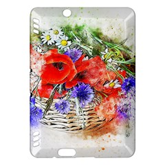 Flowers Bouquet Art Nature Kindle Fire Hdx Hardshell Case by Nexatart