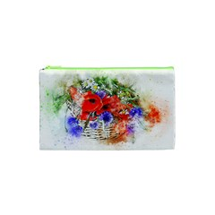 Flowers Bouquet Art Nature Cosmetic Bag (xs)