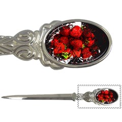 Strawberry Fruit Food Art Abstract Letter Openers