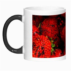 Strawberry Fruit Food Art Abstract Morph Mugs
