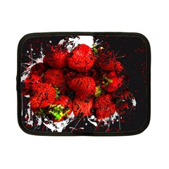Strawberry Fruit Food Art Abstract Netbook Case (small)