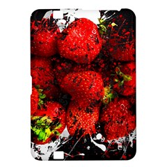 Strawberry Fruit Food Art Abstract Kindle Fire Hd 8 9