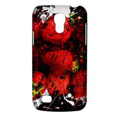 Strawberry Fruit Food Art Abstract Galaxy S4 Mini