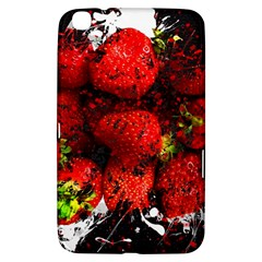 Strawberry Fruit Food Art Abstract Samsung Galaxy Tab 3 (8 ) T3100 Hardshell Case
