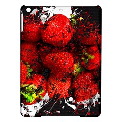 Strawberry Fruit Food Art Abstract Ipad Air Hardshell Cases