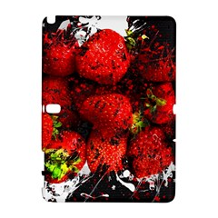 Strawberry Fruit Food Art Abstract Galaxy Note 1