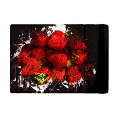 Strawberry Fruit Food Art Abstract Ipad Mini 2 Flip Cases