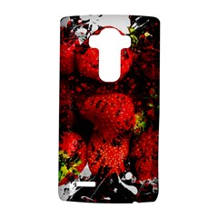 Strawberry Fruit Food Art Abstract Lg G4 Hardshell Case