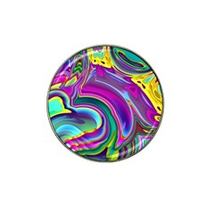 Background Art Abstract Watercolor Hat Clip Ball Marker