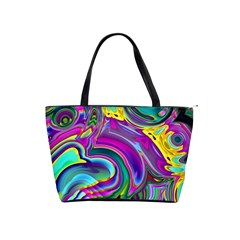 Background Art Abstract Watercolor Shoulder Handbags