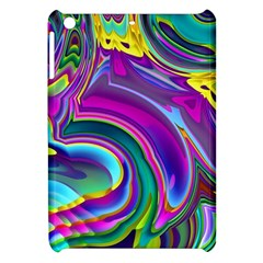 Background Art Abstract Watercolor Apple Ipad Mini Hardshell Case by Nexatart