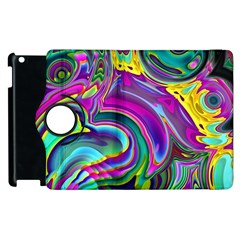 Background Art Abstract Watercolor Apple Ipad 3/4 Flip 360 Case