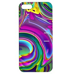 Background Art Abstract Watercolor Apple Iphone 5 Hardshell Case With Stand