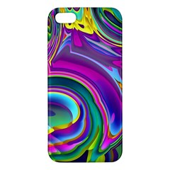 Background Art Abstract Watercolor Apple Iphone 5 Premium Hardshell Case