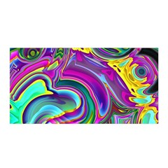 Background Art Abstract Watercolor Satin Wrap