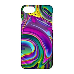 Background Art Abstract Watercolor Apple Iphone 8 Hardshell Case
