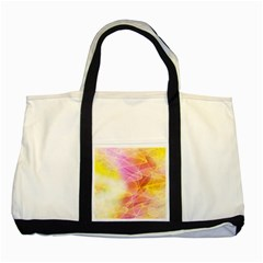 Background Art Abstract Watercolor Two Tone Tote Bag