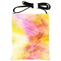 Background Art Abstract Watercolor Shoulder Sling Bags