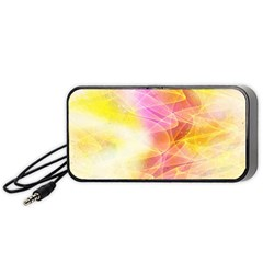 Background Art Abstract Watercolor Portable Speaker