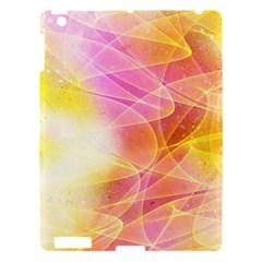 Background Art Abstract Watercolor Apple Ipad 3/4 Hardshell Case by Nexatart