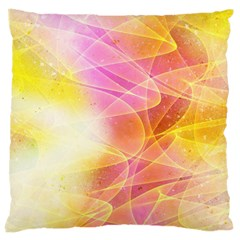 Background Art Abstract Watercolor Large Cushion Case (one Side)