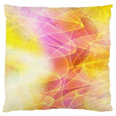 Background Art Abstract Watercolor Large Flano Cushion Case (two Sides)
